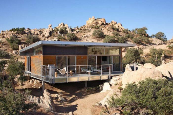 Prefabricated Sustainable Modern Home 1