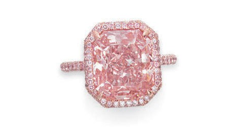 Purple Pink Diamond Ring Auctioned off for $6.91 M