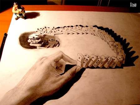 Surreal Pencil Artistry