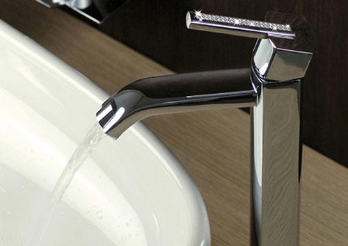 Swarovski Azeta Bathroom Faucets 1