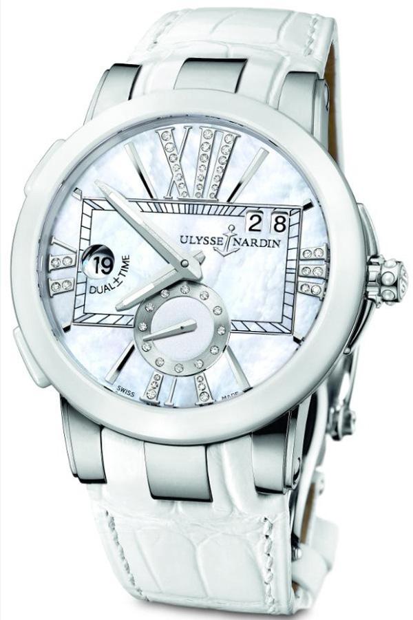 Ulysse Nardin Executive Lady Dual Time Watch 2