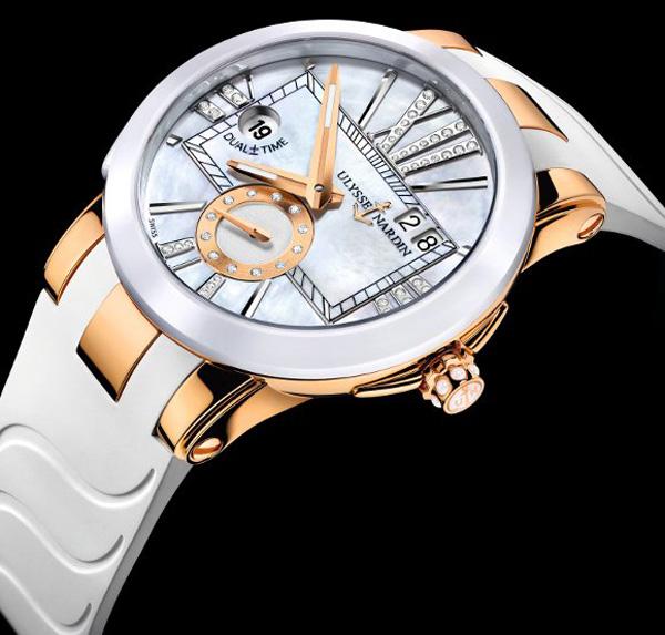 Ulysse Nardin Executive Lady Dual Time Watch 3