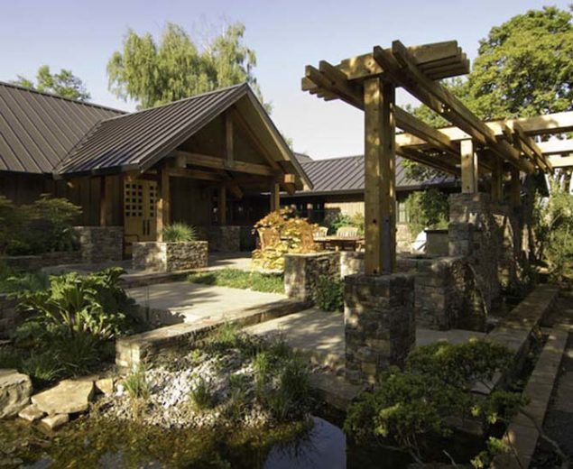 Wood and Stone House 3
