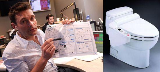 A Toilet for Birthday - Ryan Seacrest - American Idol
