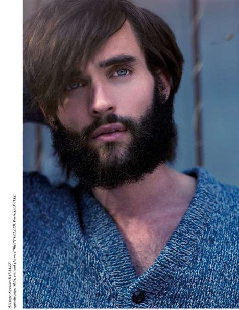 Bearded Pretty-Boy Shoots