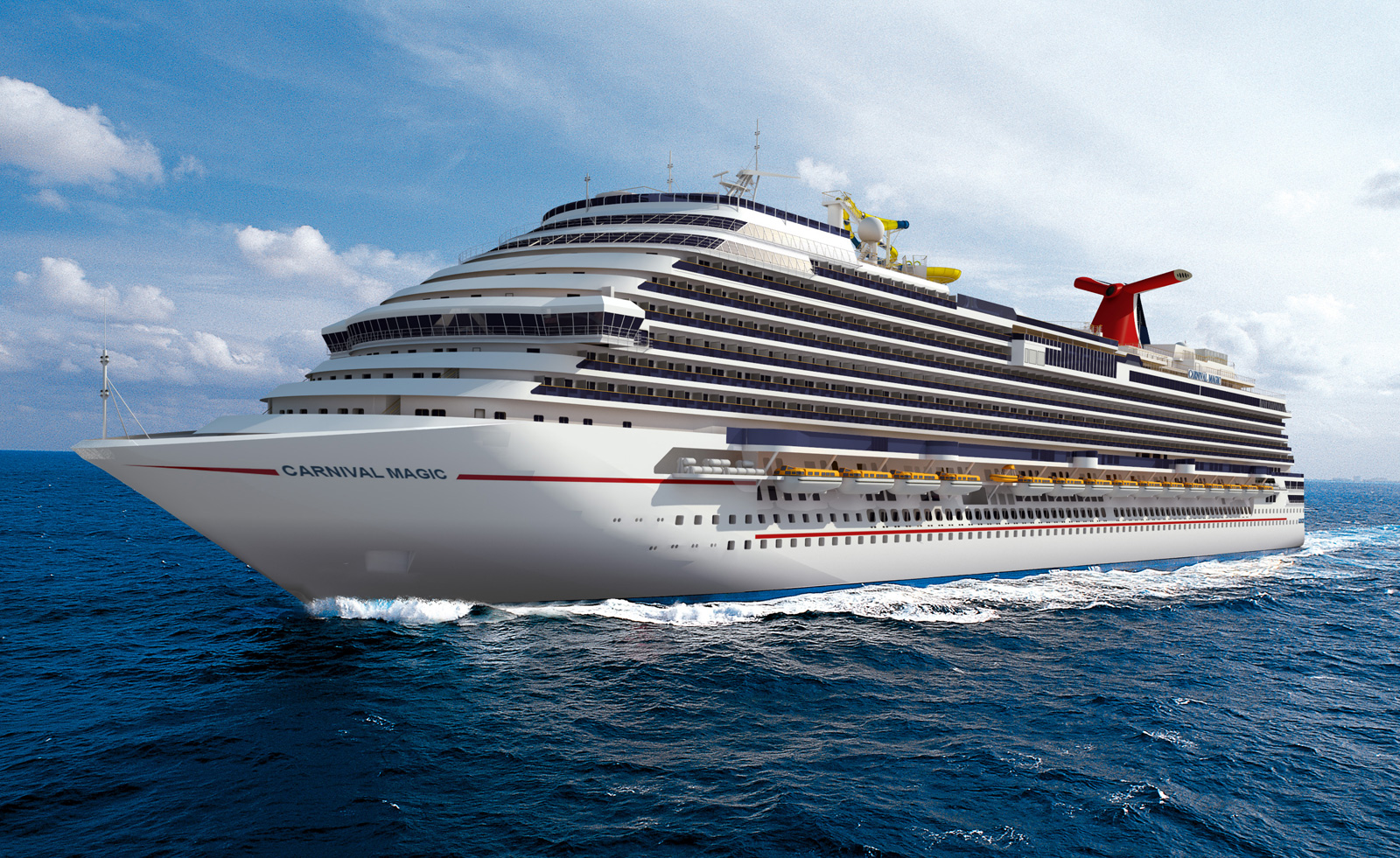 Carnival Magic - Luxury cruise ships