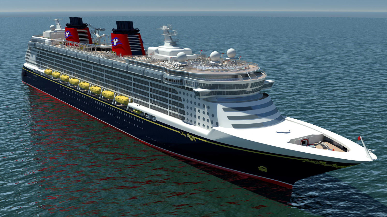 Dream Disney luxury cruise ships