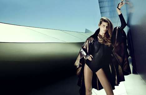 Futuristic Fashion Shoots