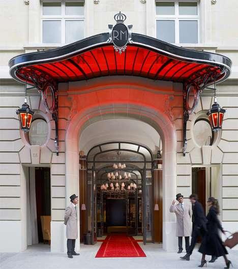 Glitzy Parisian Hotels