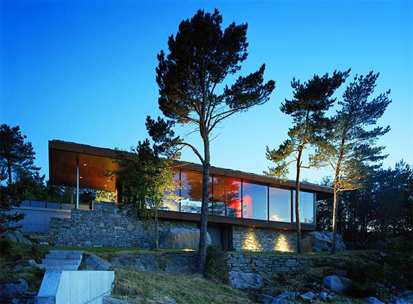Gunderson House in Norway