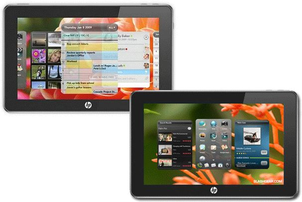 Hewlett-Packard WebOS Tablet