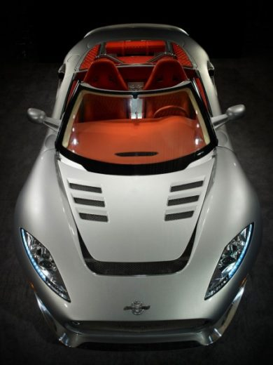 Limited Edition Spyker C8 Aileron Spyder