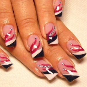 Marvelous Yet Mild Nail Art 2011 6