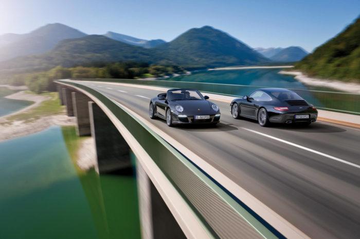 Porsche 911 Black Edition Is Ready to Impress