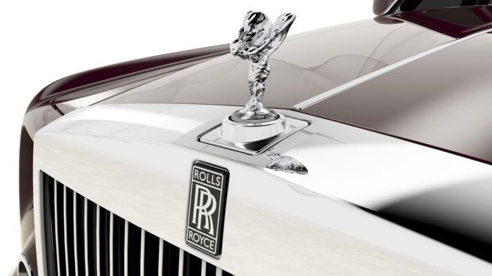 Rolls Royce Spirit of Ecstasy Centenary Collection