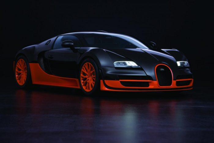 World's Most Expensive Cars - Bugatti Veyron Super Sport