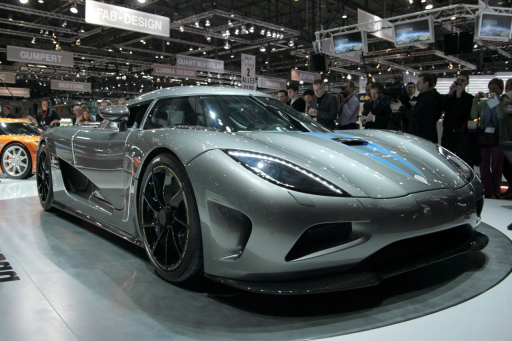 World's Most Expensive Cars - Koenigsegg Agera 1