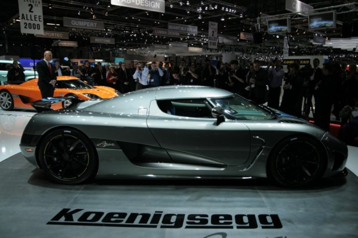 World's Most Expensive Cars - Koenigsegg Agera 5