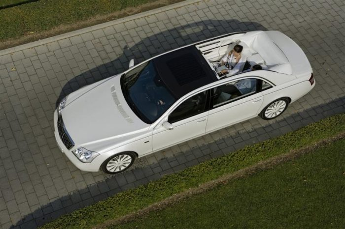 World's Most Expensive Cars - Maybach Landaulet 1