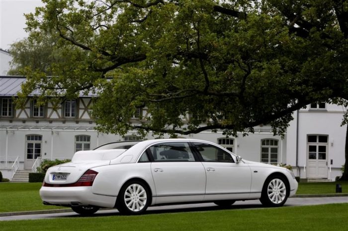 World's Most Expensive Cars - Maybach Landaulet 2