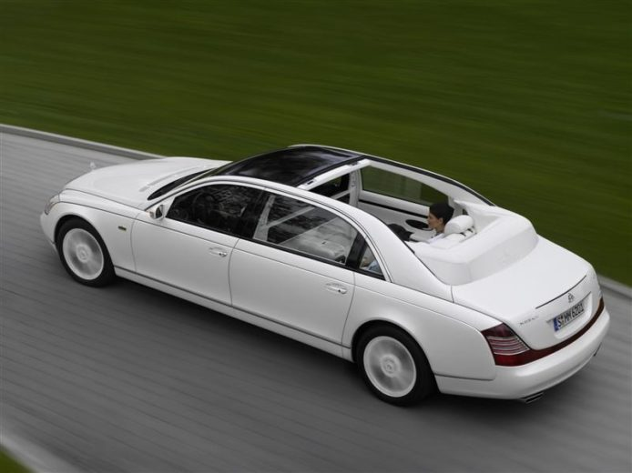 World's Most Expensive Cars - Maybach Landaulet