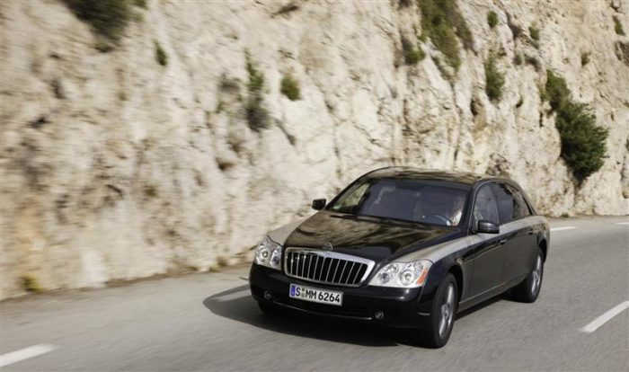 World's Most Expensive Cars - Maybach Landaulet 7