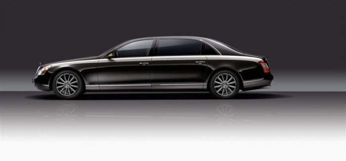 World's Most Expensive Cars - Maybach Landaulet 8