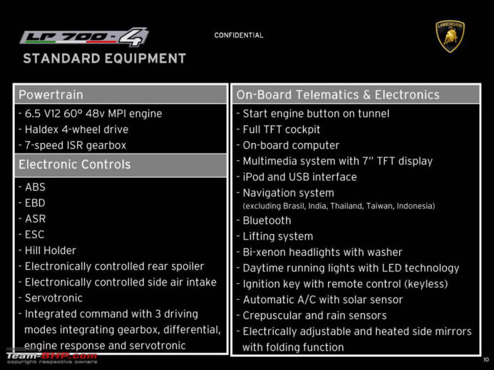 lamborghini Aventador Now Available for Preorder 10
