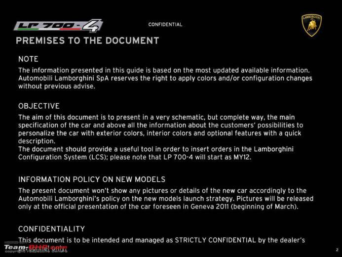 lamborghini Aventador Now Available for Preorder 2