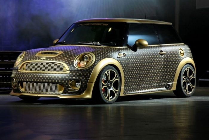 A Mini Cooper Inspired by Louis Vuitton 1