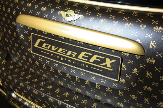 A Mini Cooper Inspired by Louis Vuitton 12