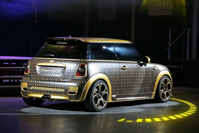 A Mini Cooper Inspired by Louis Vuitton 2