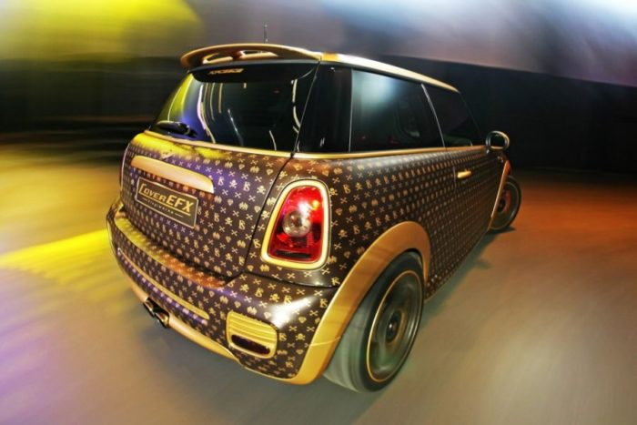 A Mini Cooper Inspired by Louis Vuitton 3