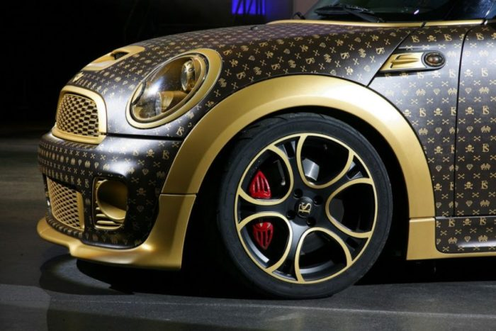 A Mini Cooper Inspired by Louis Vuitton 5