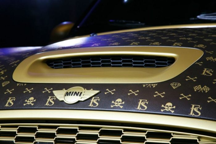 A Mini Cooper Inspired by Louis Vuitton 6