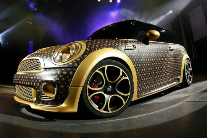 A Mini Cooper Inspired by Louis Vuitton