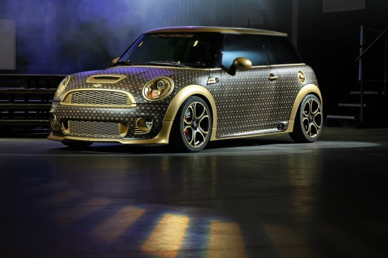 A Mini Cooper Inspired by Louis Vuitton 8