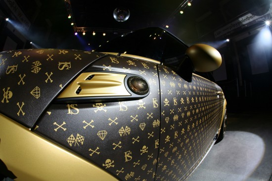 A Mini Cooper Inspired by Louis Vuitton 9