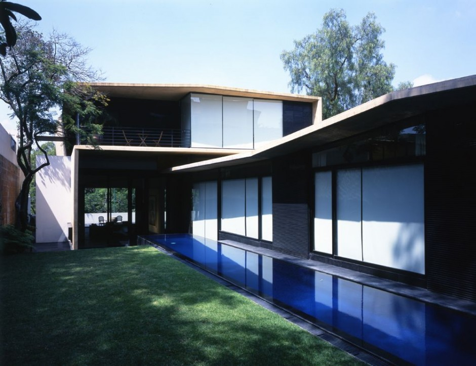 Alpes House in Mexico City (10)