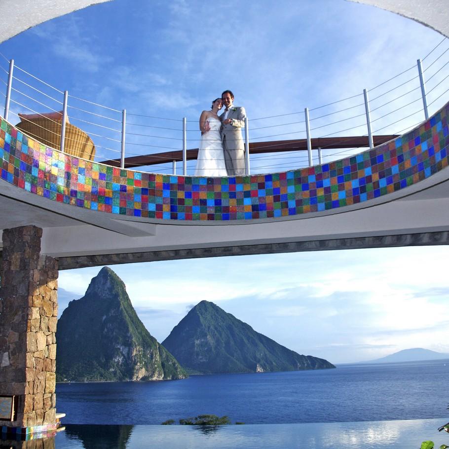 Choose Jade Mountain for a Romantic Getaway 5
