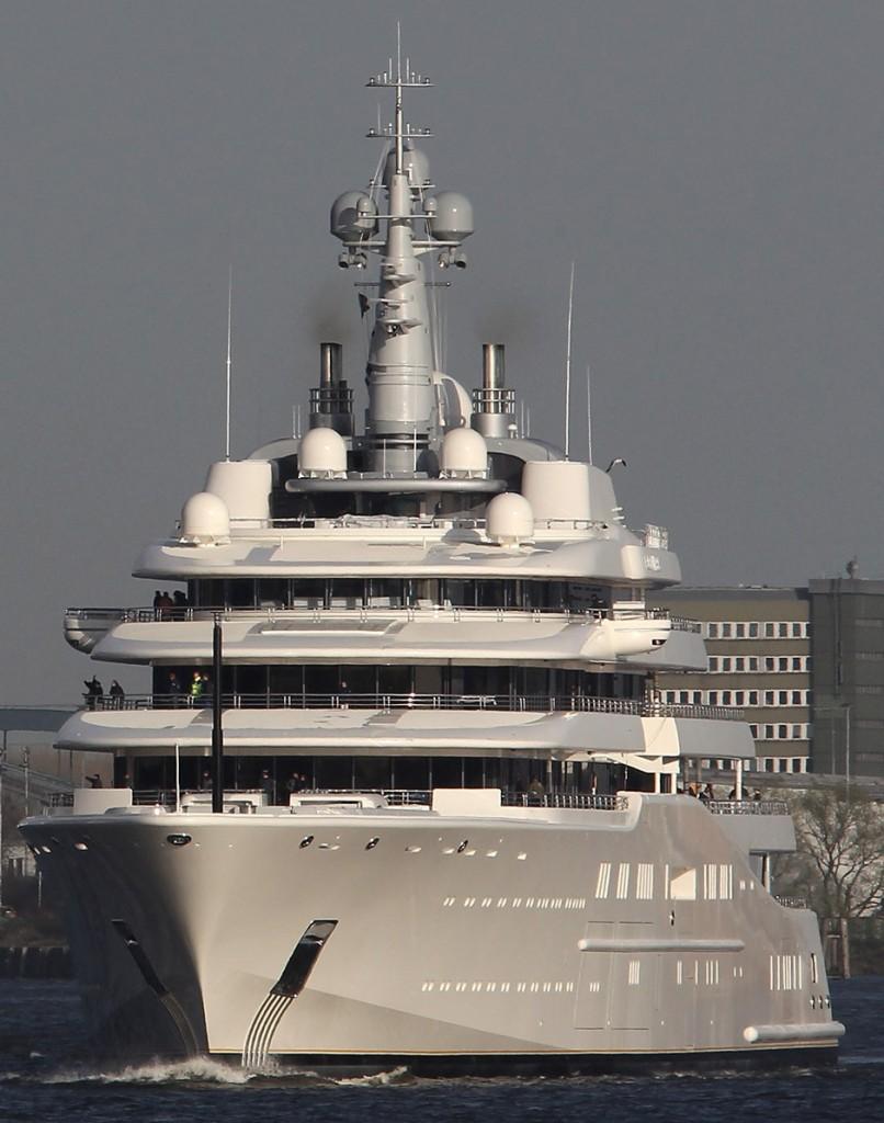 Eclipse luxury yacht 2