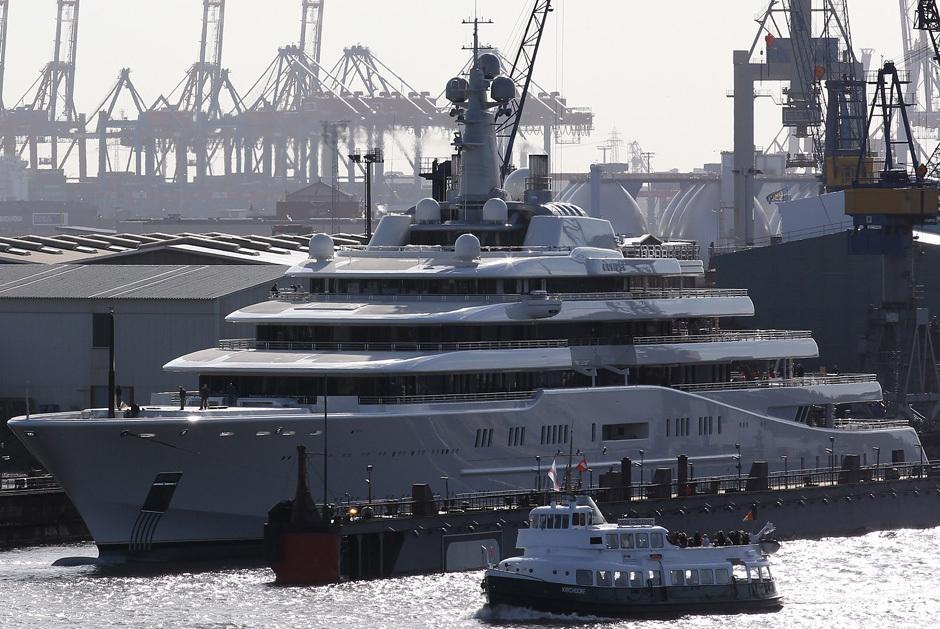 Eclipse luxury yacht 1