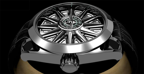Helios Watch by Frederic Jouvenot 4