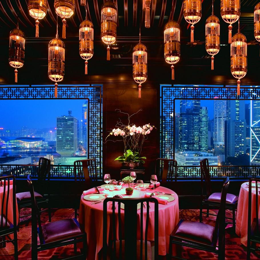 Mandarin Oriental Hotel in Hong Kong