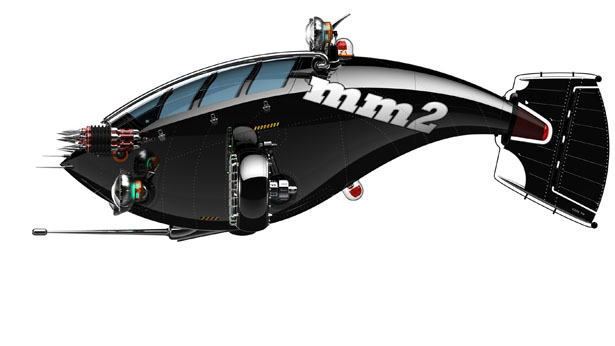 Neptune MM2 Mini Submersible 1
