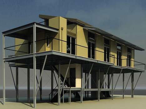 Prefab Disaster Housing 1