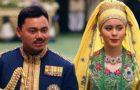 Prince Al-Muhtadee Billah and Sarah Pengiran Salleh