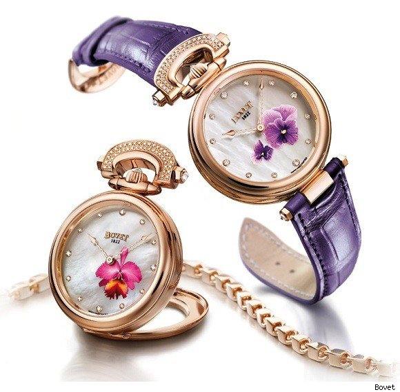 The Delicate Mille Fleurs Watch from Bovet