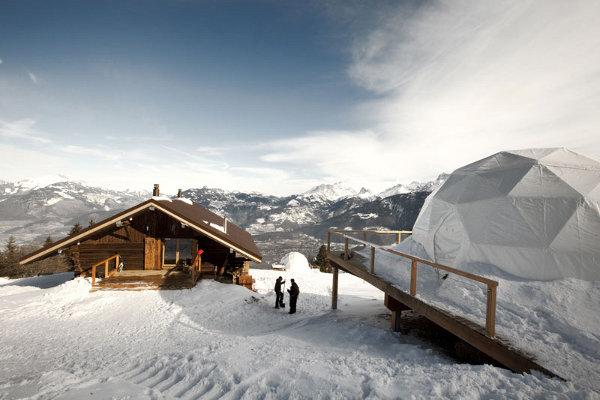 WhitePod Alpine Ski Resort in Switzerland 10