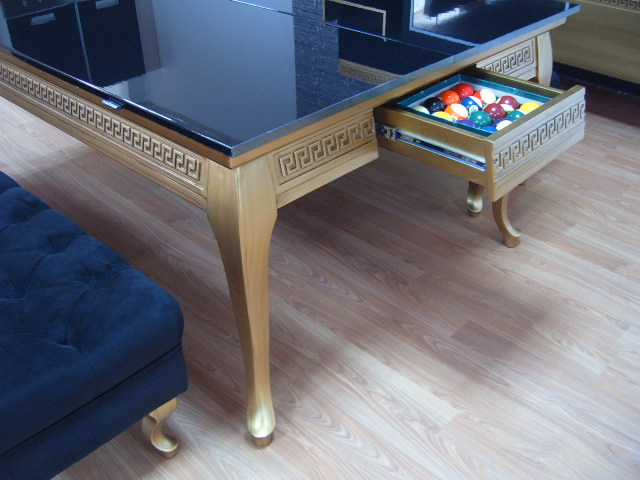 Luxury Pool Table Disguised as Dining Table (8)